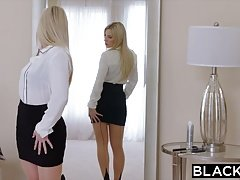 BLACKED Hot Nympho Cant Keep Her Hands Off The BBC