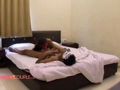 Hardcore Indian Couple Fucking In Bedroom In HD Porn Video