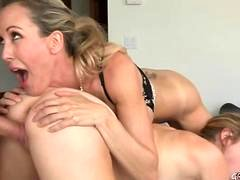 Brandi Love and Taylor Whyte in hot threesome