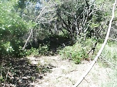 transvestite anal fisting forest outdoors sextoy 10