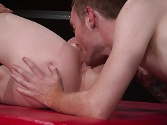 Club Inferno Dungeon Fisting his Hungry Gape