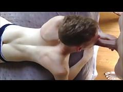boy sucks daddys cock