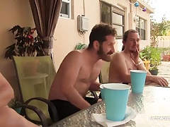 Cocktail Party Gay Sex Orgy 1
