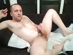 naked boy fapping and cumming