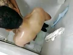 Young Guy Fucks Older In Public Shower