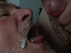 Married man feeds me his cum