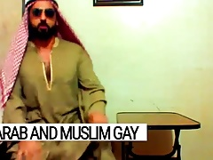 Arab gay Libya's most vicious fucker, caught while cumming.