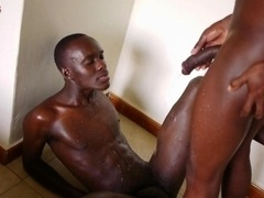 Feeling The Rough Bareback Of Sizeable African Cock