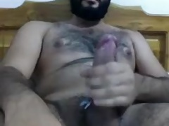 HAIRY UNCUT BEARDED LATINO BIG FAT DICK