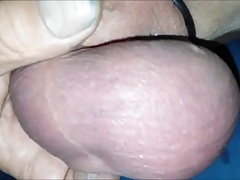 Mike puts his cock and balls on display