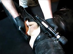 My helpless rubber slave