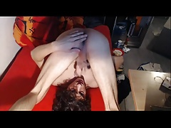 Wank, selfsuck and cumshot 03