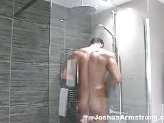 He caught me wanking in the shower