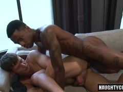 Hot gay bareback and cumshot