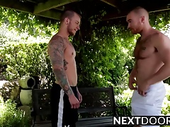 Hot ass Jaxon Colt gets drilled by James Jamessons big dick
