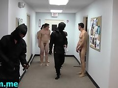 Excited gay guys play with each other's tight buttholes