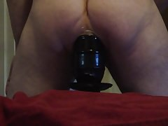 Massive, Huge, Extra Large Butt Plug in my Welcoming Ass