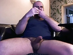 Very handsome bear cumming hard