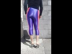 tight ass lycra