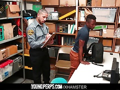 YoungPerps - Teen shoplifter punished by a horny mallcop