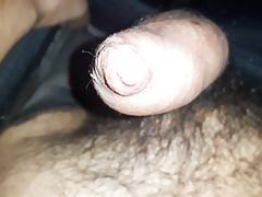 Totally horny... my tight foreskin drips precum