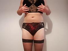 Sexy bra and panties set