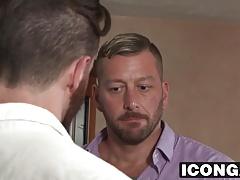Gay daddies Brendan Patrick and Hugh Hunter fuck hard
