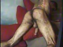 Hairy latino ass