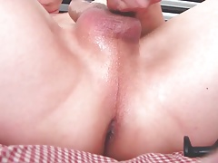 Anal and cum