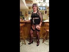 sissy fag dana..at the bar again!