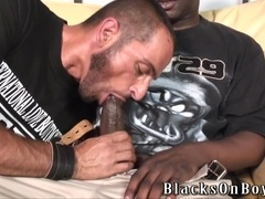 Tom Colt fucks with his black BF after they suck each other's dicks