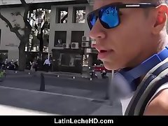 Jock Latino Picked Up Off Street And Fucked By Stranger Making Sex Video POV