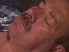moustache daddy bear