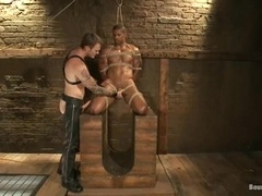 Christian Wilde enjoys fucking Robert Axel's holes in BDSM video