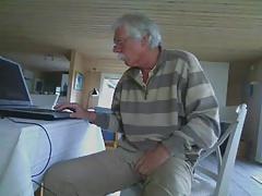 Naked grandpa