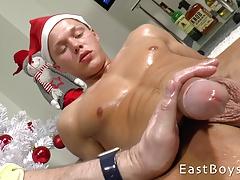 Christmas Handjob