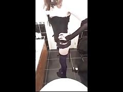 SISSY in Bathroom
