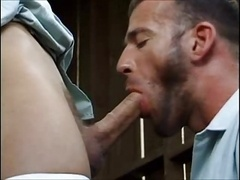 Hot & hung: collegues have sex for the first time