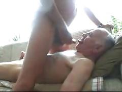Daddy sucking