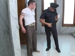 Dean Tucker gets humiliated and fucked by gay cop Tyler Saint