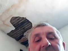 Serbian daddy masturbate on cam pt1