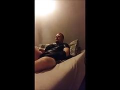 Danish Guy - Rubbercub with medium-big prostate massager