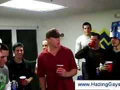Hazing the college guys
