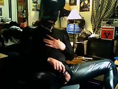 Gay In Latex Suit Hot Wanking