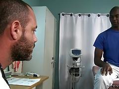 ExtraBigDicks Scary Str8 Big Black Dick Visits His Doctor