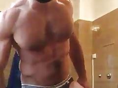 Hairy in bathroom