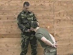 Soldiers giant shlong deepthroating