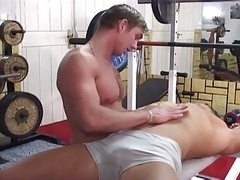 Body builders toys and furthermore ass fucking in gym
