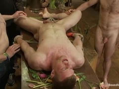 Blonde fairy gets humiliated and fucked in a flower shop