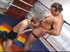 Big Muscled Man vs Twink